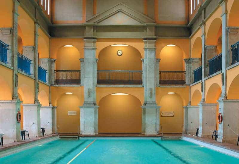 Rudas Baths pool2