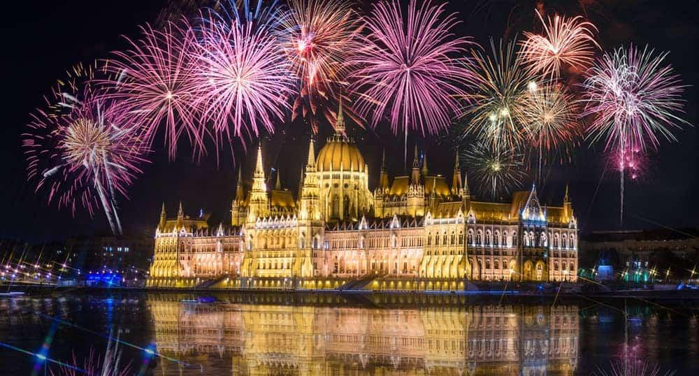 Fireworks Budapest