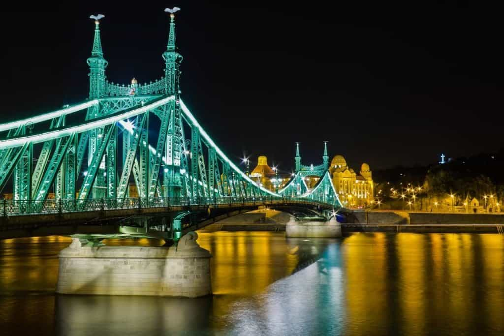 Fővám square-Liberty bridge