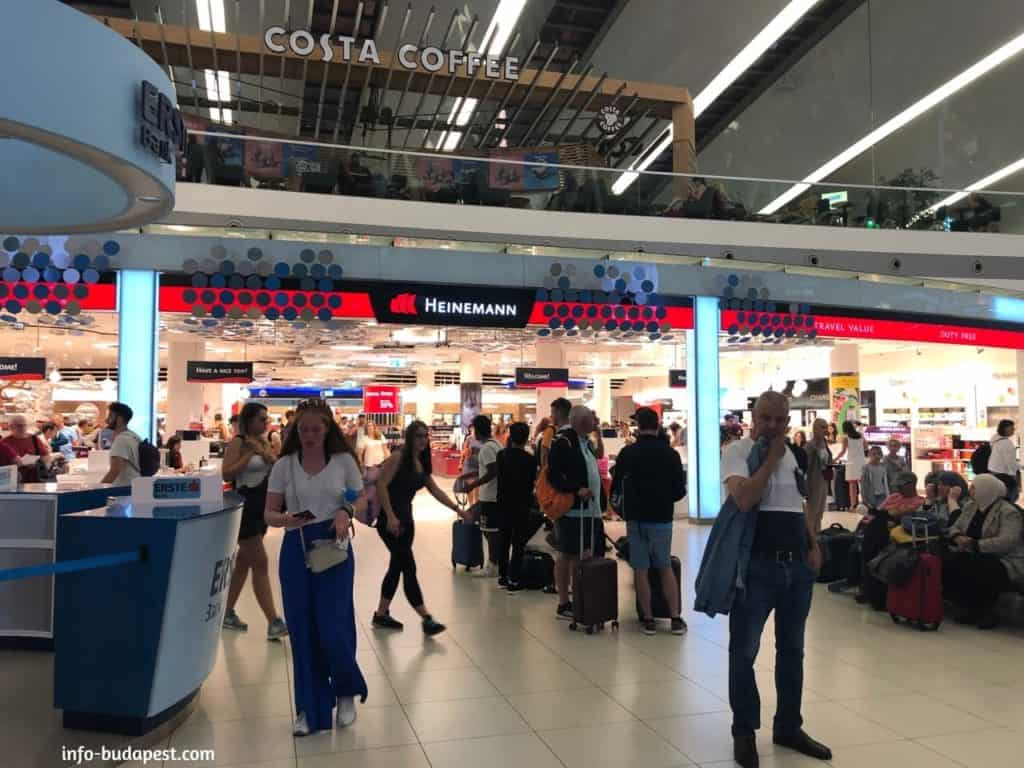 Liszt Ferenc Airport-Duty free shops