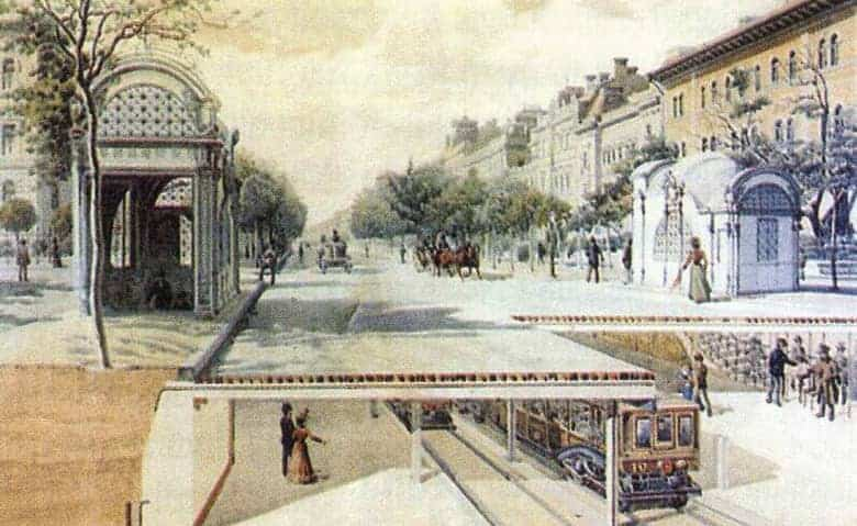 first metro in Budapest