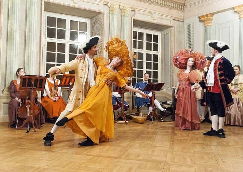 Baroque Ball-Zichy palace