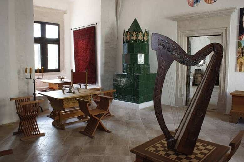 Diósgyőr castle inside