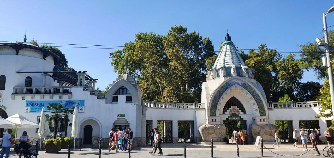 Building of Budapest Zoo