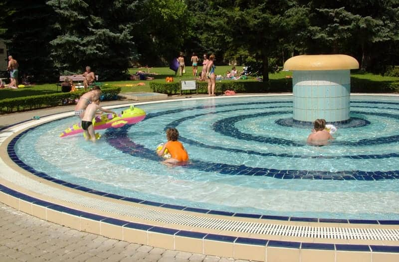 kids love to go in the pool