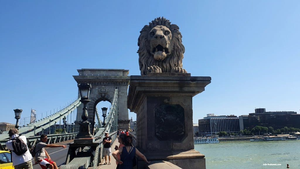 Chain Bridge's Lion