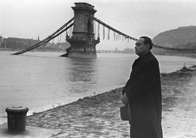Ferenc Szálasi near the Chain bridge
