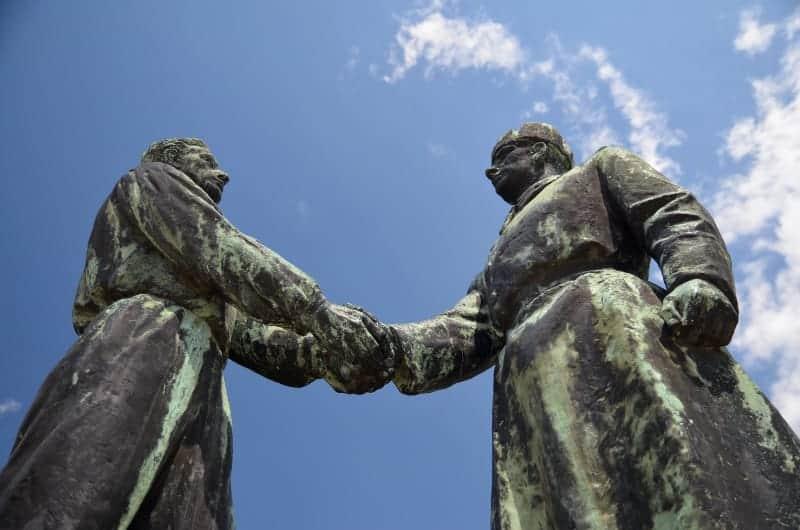 Memento Park,  Hungarian-Soviet Friendship