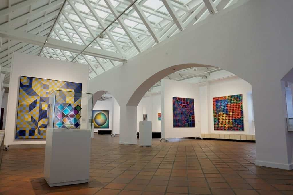 interesting sight in Budapest: the Vasarely Museum