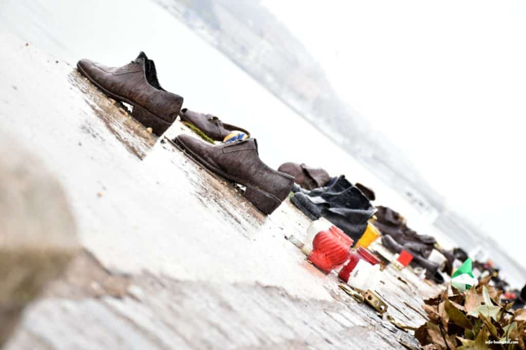 shoes on the danube bank memorial