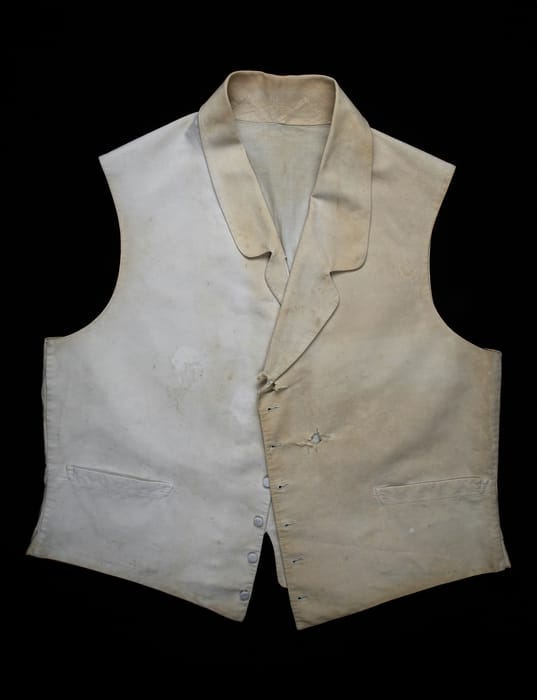Lajos Batthyany's vest