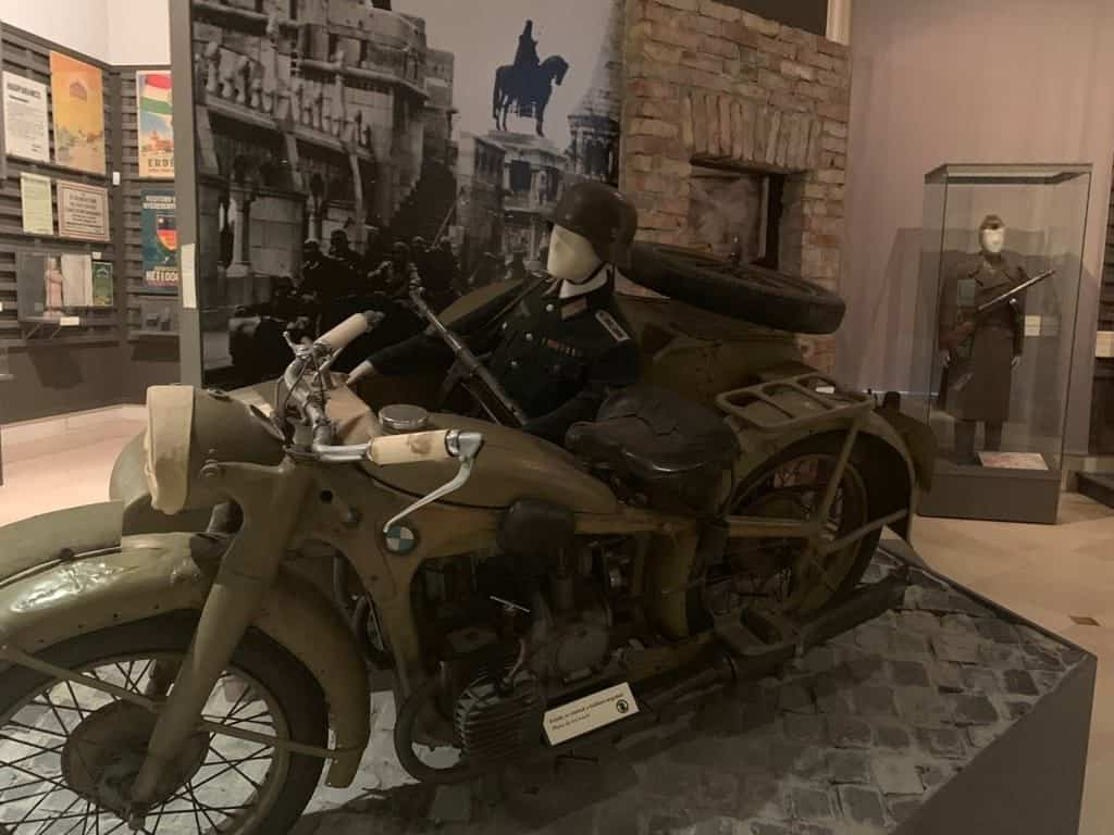 German occupation - BMW motorcycle
