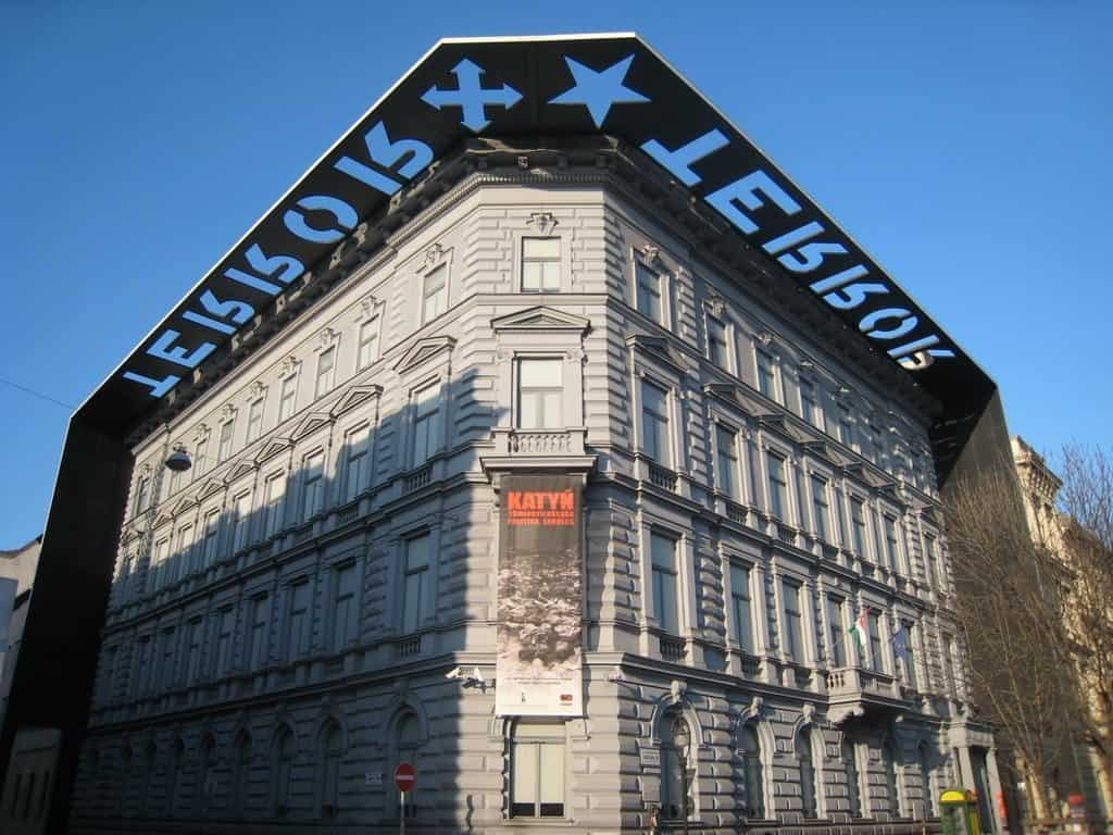 House of Terror Museum in Budapest