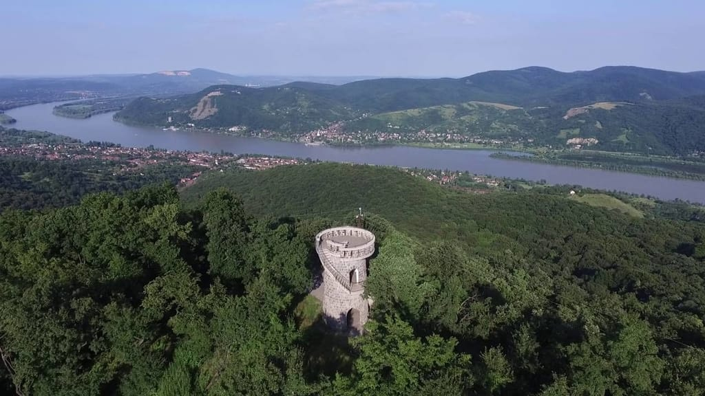 Julianus Lookout Tower, sight near Visegrad