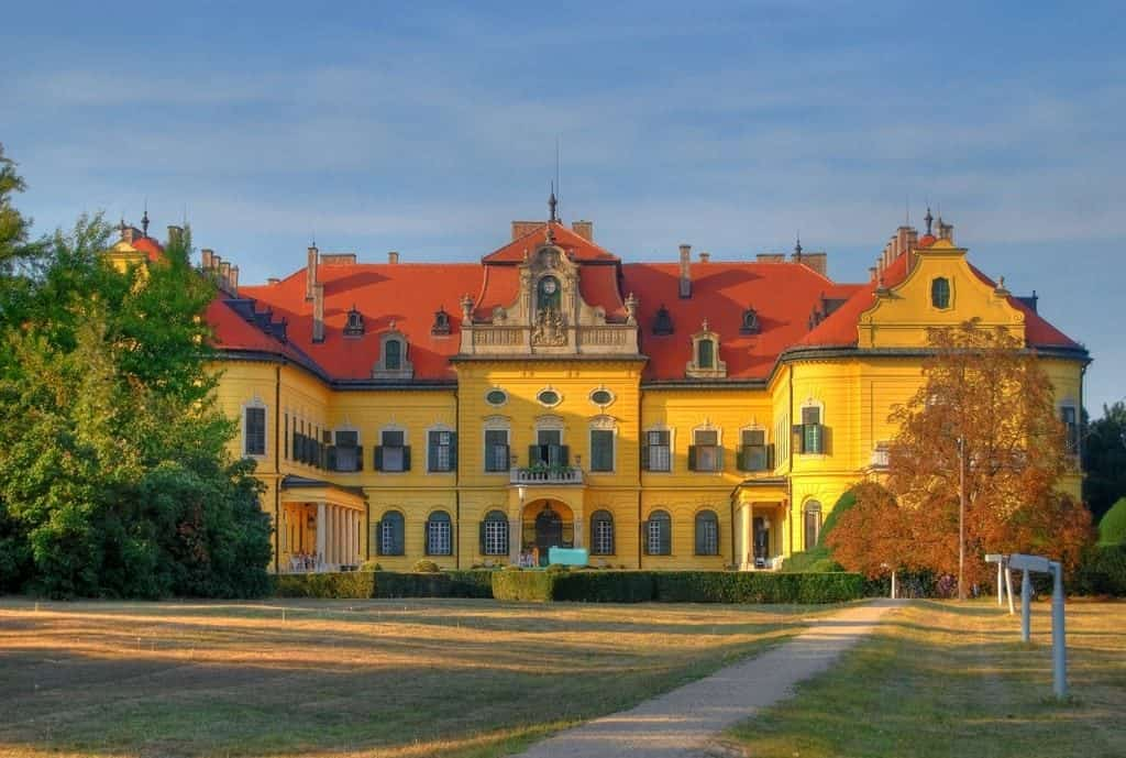 Karolyi Castle in Nagymagocs