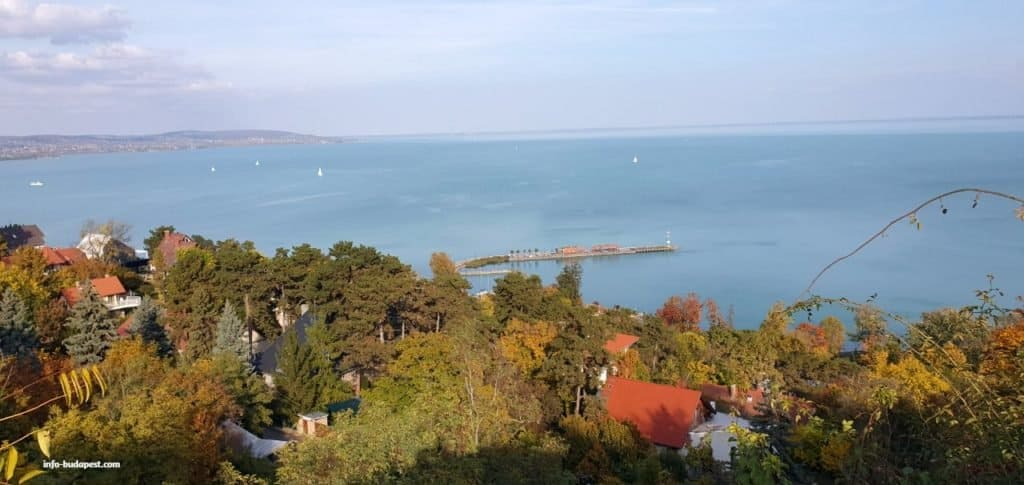 Lake Balaton, a must see sight in the countryside