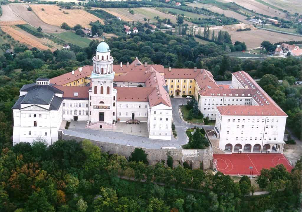 The Benedictine Abbey of Pannonhalma