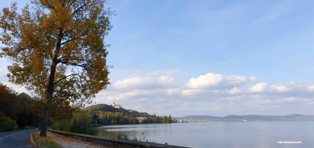 Tihany Abbey and the Lake Balaton