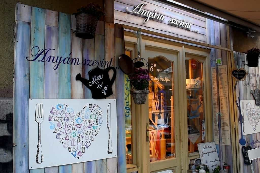Anyám szerint- one of the best breakfast place in Budapest