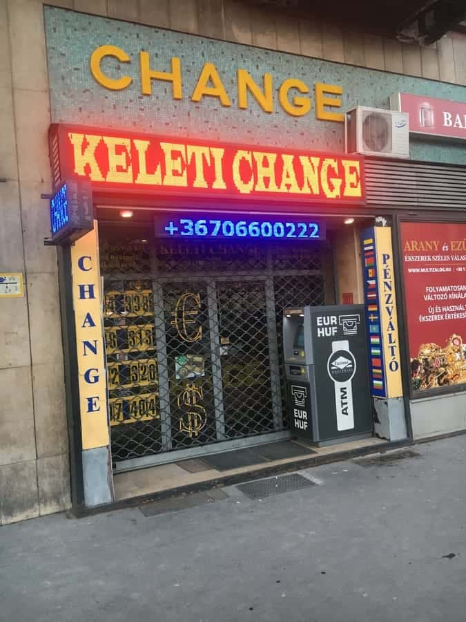 The best exchange office near Eastern Railway Station.