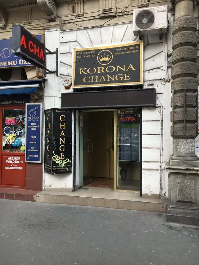 Korona Change - A good place to exchnage money