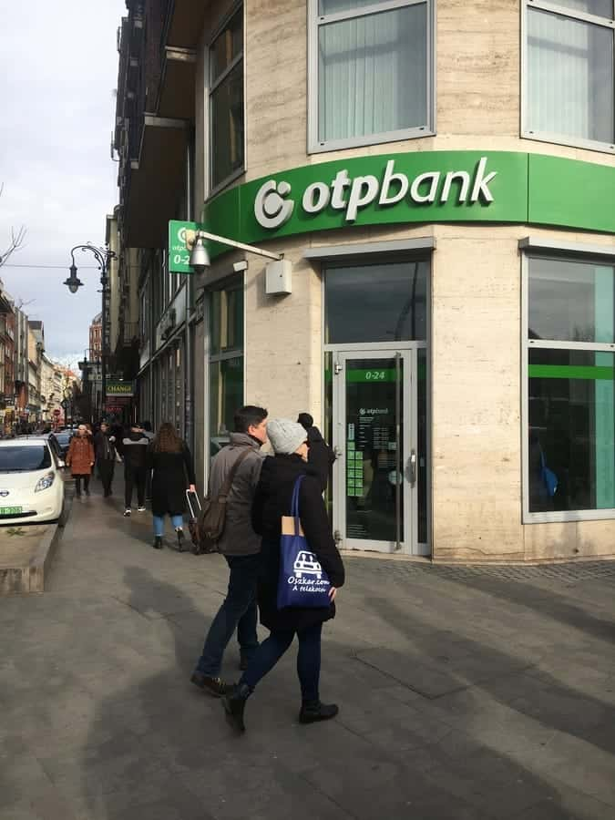 OTP Bank, Don't change money in bank.