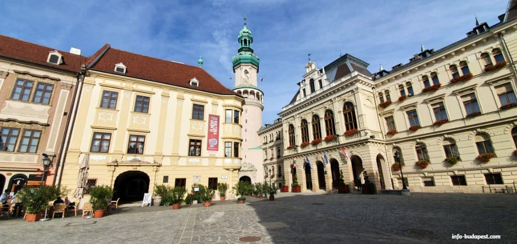 Sopron is the most loyal Hungarian city and it has exciting sights