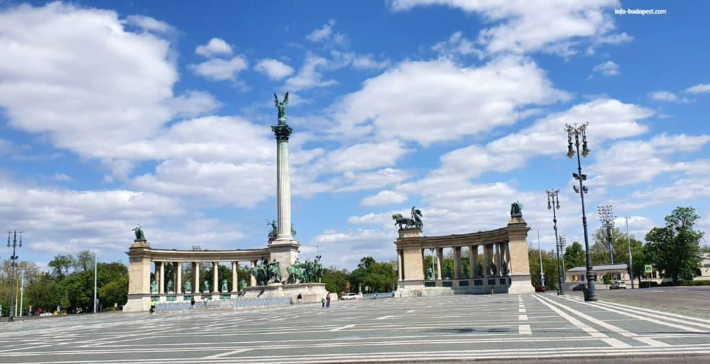 Heroes Square, photo: info-budapest.com