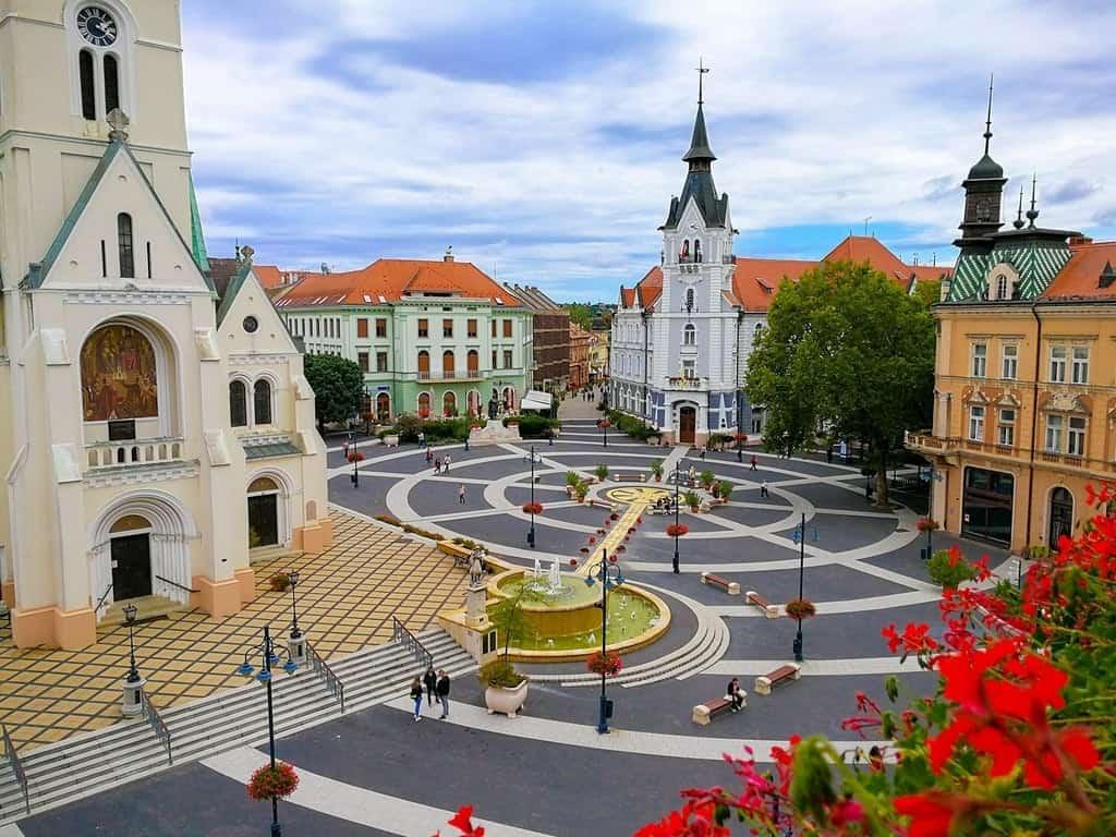 A real Cultural Center Kaposvár