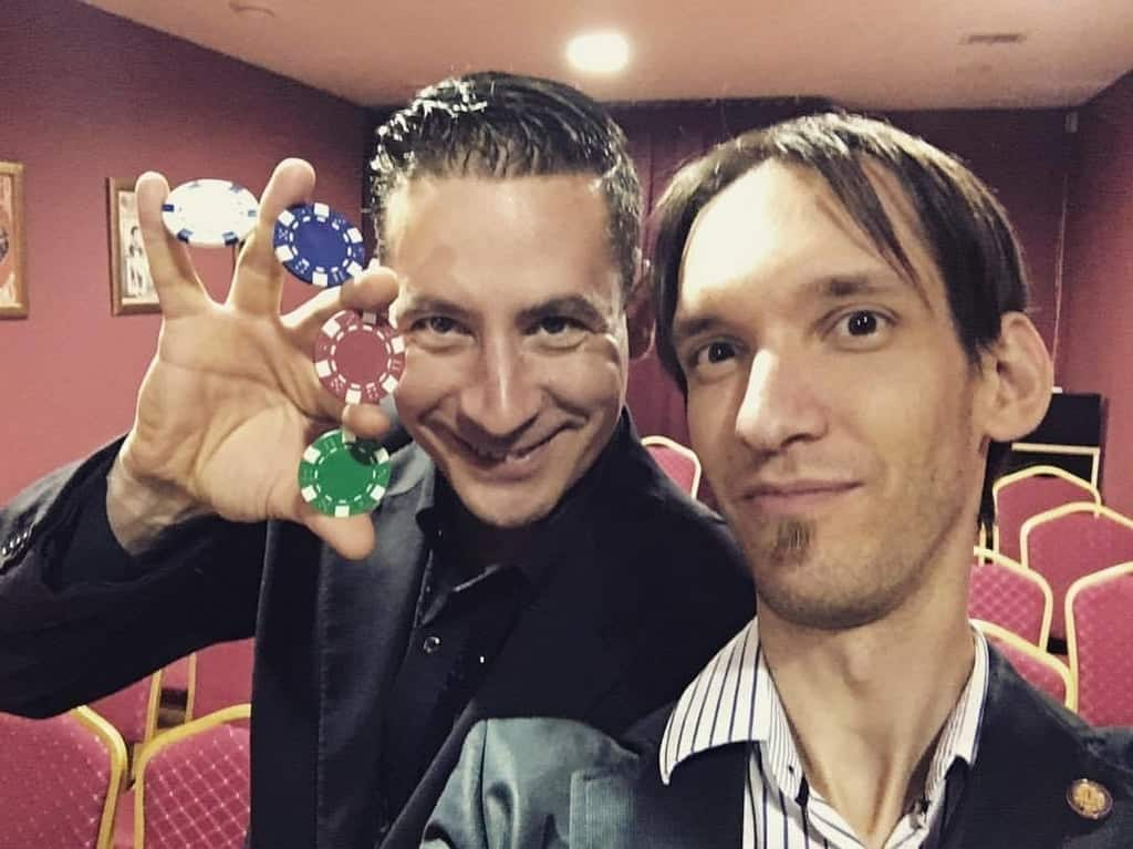 Magician Lui and Damian-Magician's theater-Fun things to do in Budapest