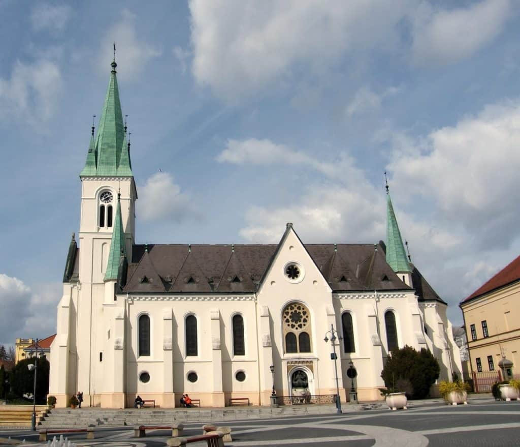 The Cathedral of the Assumption-Kaposvár