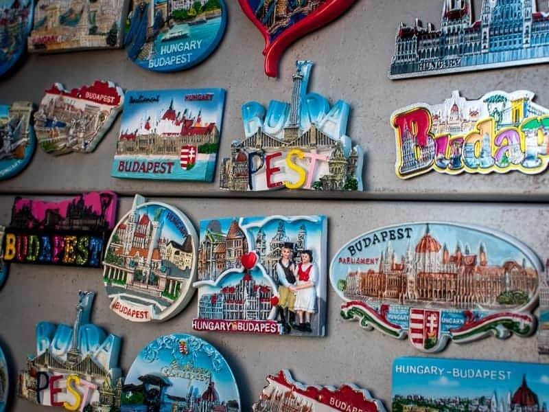 classic boring souvenirs in Budapest