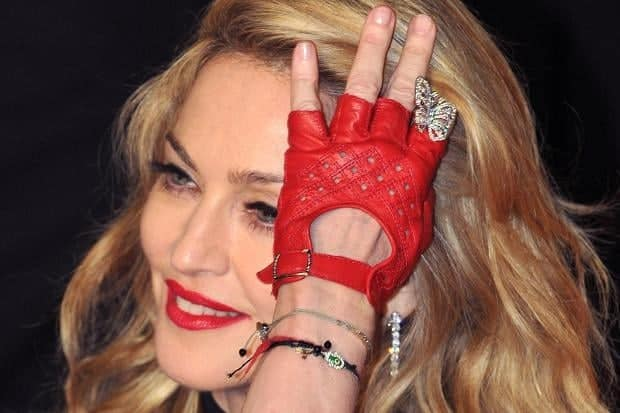 Madonna's gloves from Pécs
