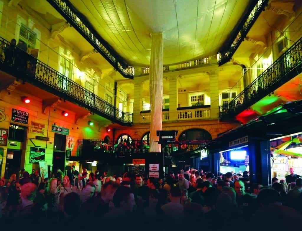 Morrisons 2 nightclub-Budapest