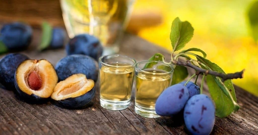 Perfect souvenir is the authentic Hungarian plum palinka