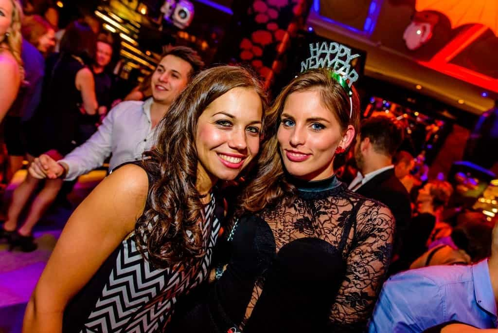 Symbol nightclub in Budapest-New Year party