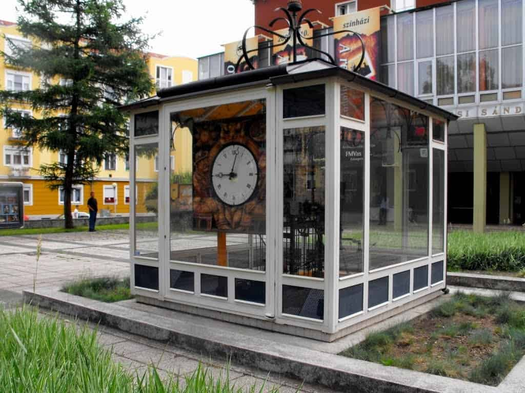 Zalaegerszeg-The tower clock on Earth