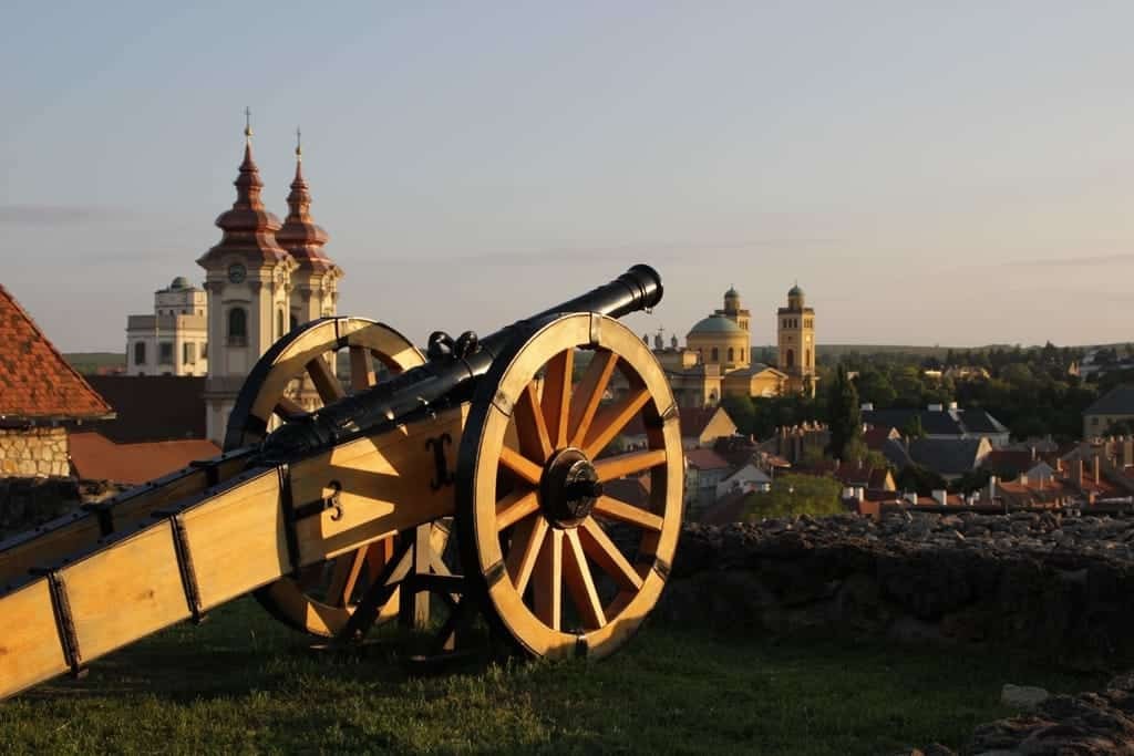 Eger – Get into a romantic atmosphere in the historic city, Eger Castle, Cannon