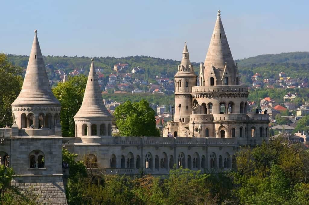 Fisherman's bastion-Budapest-summer