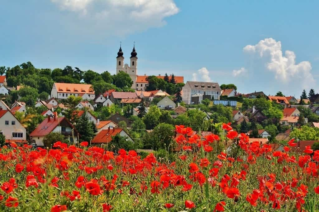 Romantic place around Lake Balaton - Tihany