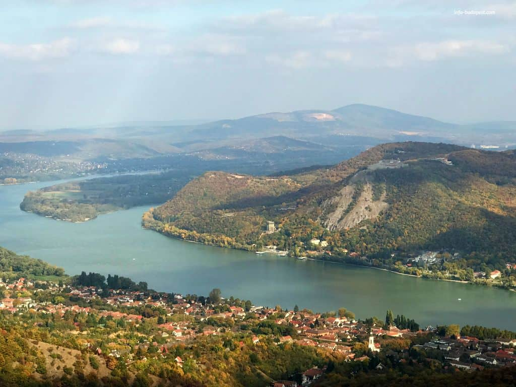 Danube Bend - Nagymaros and Visegrád the two most romantic cities in Hungary