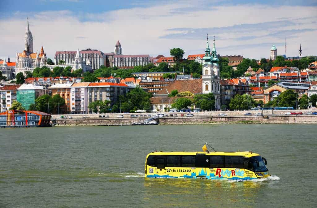 River Ride-Unusual and weird things to do in Budapest
