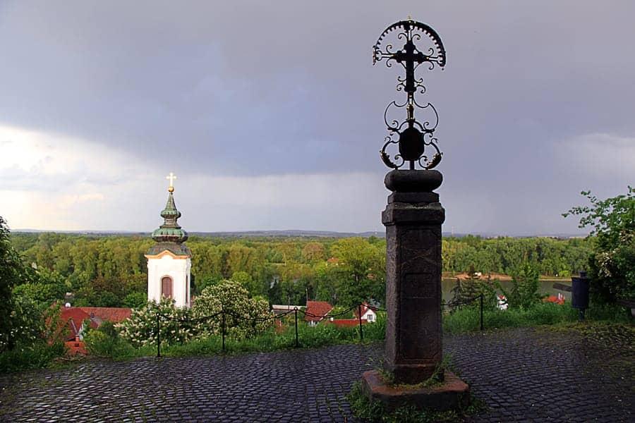 Serbian cross-Szentendre