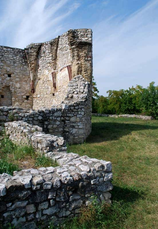 The Balatonfüred- Papsoka-Siske church ruins