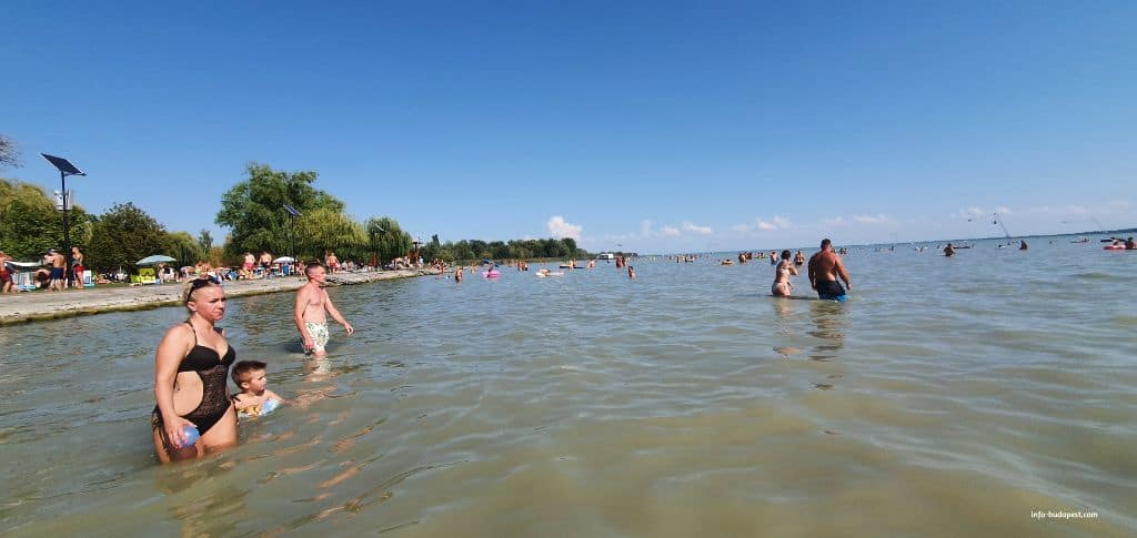It is Lake Balaton clean, and what is its water quality-Vonyarvashegy beach