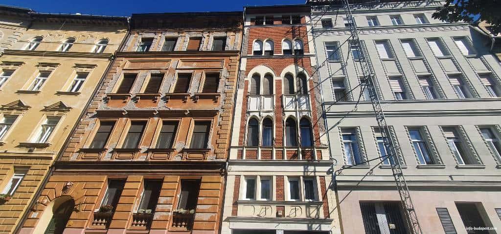 The backyard of Mandl House-Budapest
