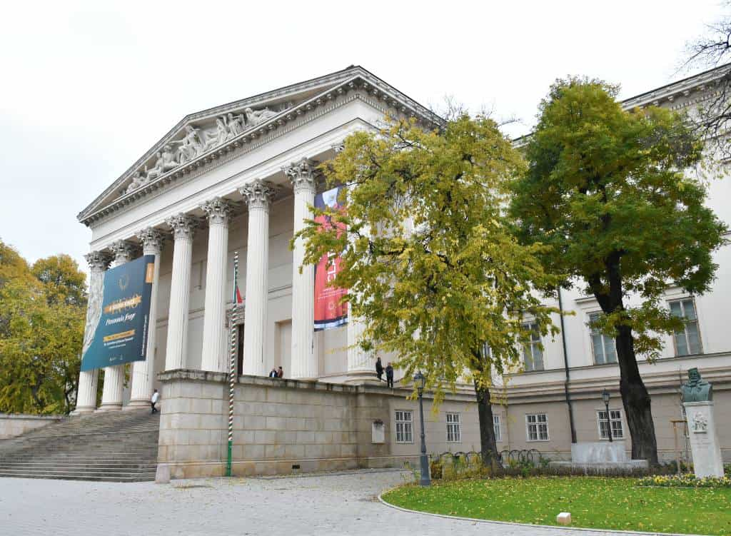 Visit the museums of Budapest unlimited-Hungarian National Museum in Autumn