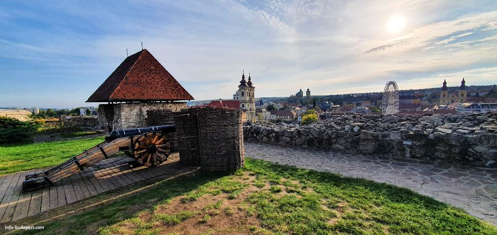 view from Castle of Eger